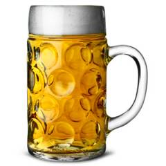 German Stein Glasses - 2 Pints