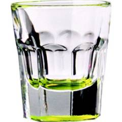 Yellow Shot Slammer Glass 1.25oz