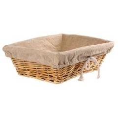 Rectangular Wicker Basket Hire
