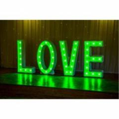 4ft LED LOVE letters