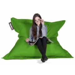 Giant Lime Bean Bags for Hire