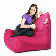 Lounger Chair Bean Bag Pink