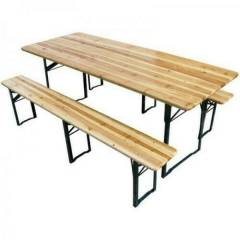 Beer Bench and Table Set