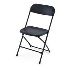 Black Folding Chairs