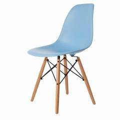 Eames Inspired Chair Rent Blue