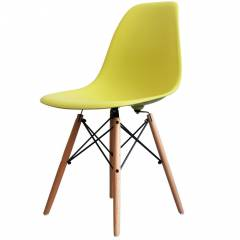 Eames Inspired Chair Green