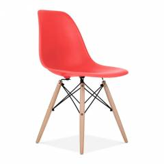 Eames Inspired Chair Red