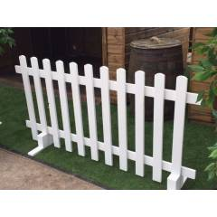 Hire White Picket Fencing