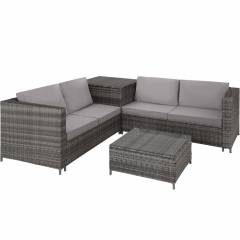 Four Piece Rattan Furniture Set for Hire