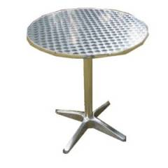 Aluminimum Circular Outdoor Table Hire