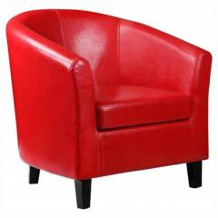 Red Tub Chair for Hire