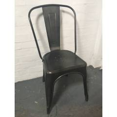 Tolix Cafe Chairs Hire - Gunmetal