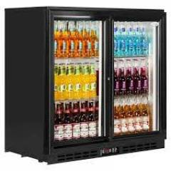 Double Door Bottle Cooler Hire