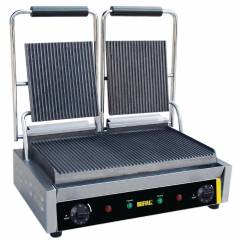 Double Ribbed Panini Grill Hire