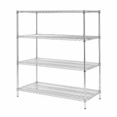 4 Tier Wire Shelving Hire