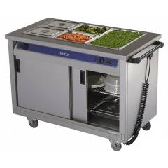 Mobile Hot Cupboard Hire - 3 Bains Marie