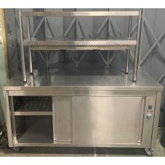 Plain Top Hot Cupboard with Heated Gantry Hire