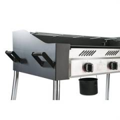 18kw Commercial BBQ Griddle and 19kg Gas Bottle Package
