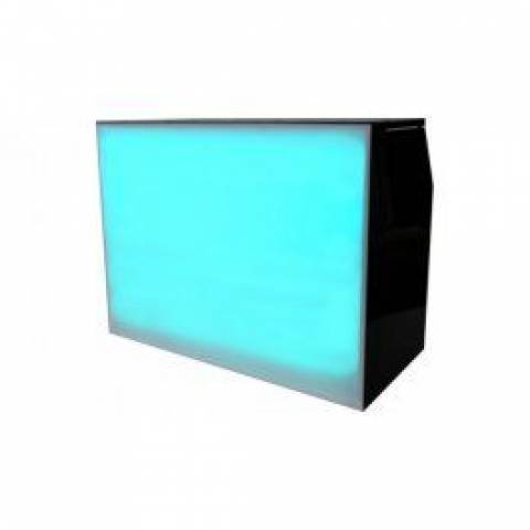 Folding Back Lit Bar Unit