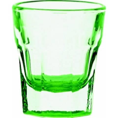 Green Shot Slammer Glass 1.25oz