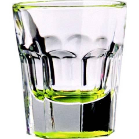 Yellow Shot Slammer Glass 1.25oz