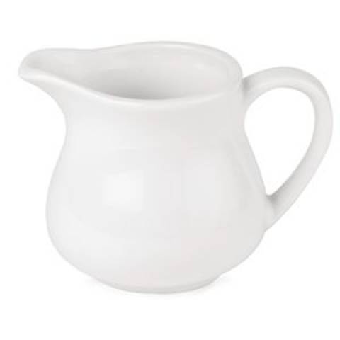 Milk Jug (7oz) - Simply Vitrified Hotelware Porcelain