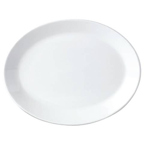Oval Wide Rim Platter 374x 254mm