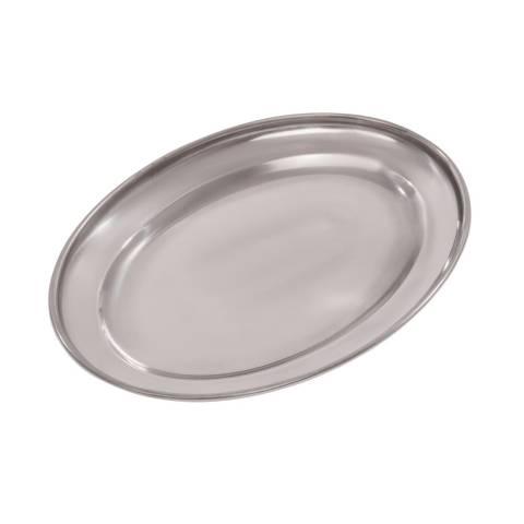 Oval Serving Salver/Flat 18