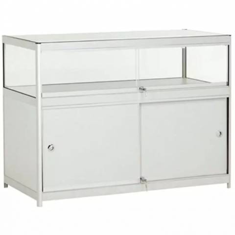 Display Counter Cabinet with Large Storage Area