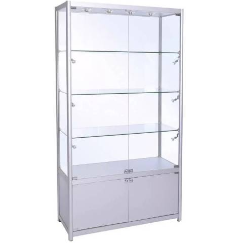 Wideboy Display Cabinet - With Drawer