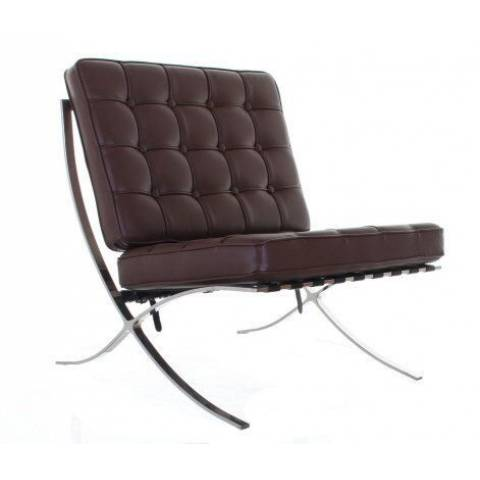 Hire Barcelona Chair Brown