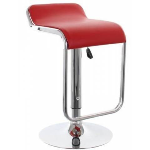 Milano Style Stool Red