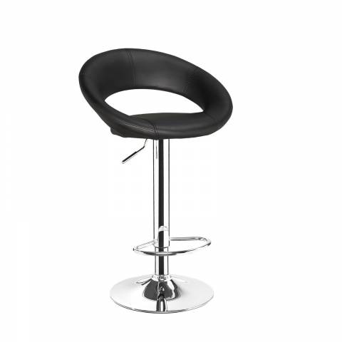 New Moon Bar Stool - Black