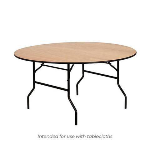 6ft Circular Banqueting Table