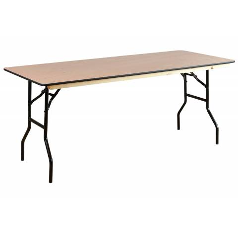 6ft Rectangular Banqueting Table