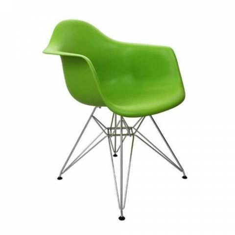 Eames Inspired Eiffel Chair Green