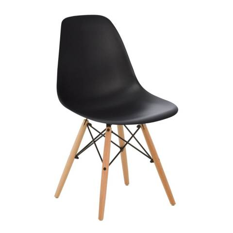 Eames Inspired Chair Black
