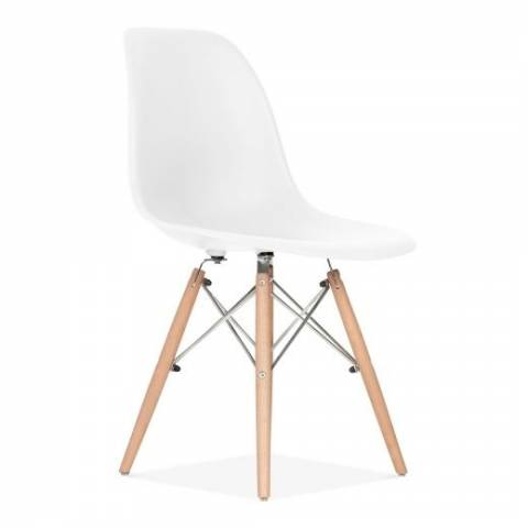 Eames Inspired Chair White