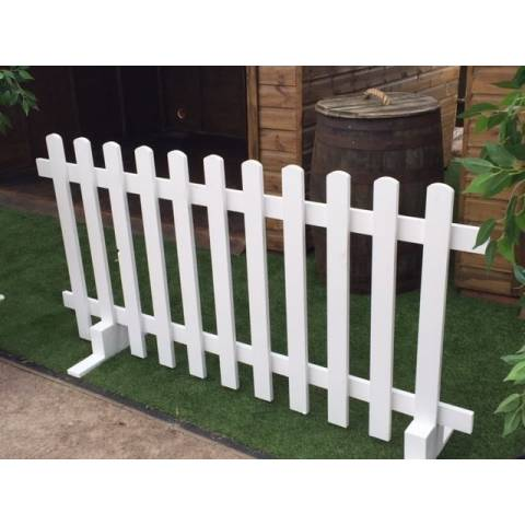 White Picket Fence - 3ft x 6ft
