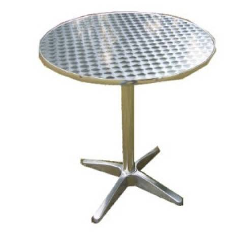 Outdoor Table - Aluminium Round Table 60cm