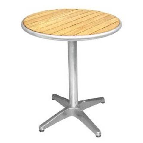 Outdoor Table - Teak Table Round 70cm