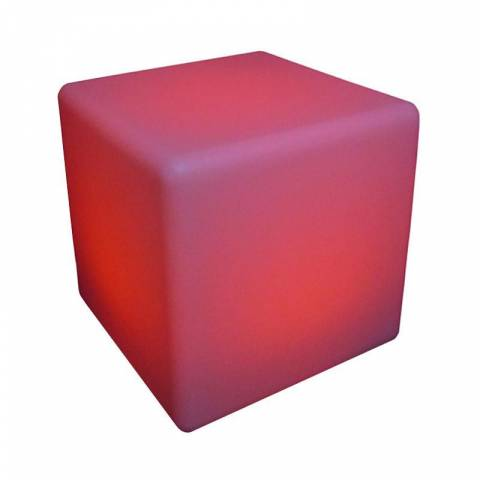 LED Colour Changing Cube Seat