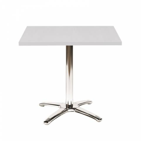 White Bistro Table 70cm x 70cm