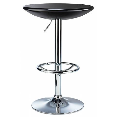 Dial Poseur Table - Black