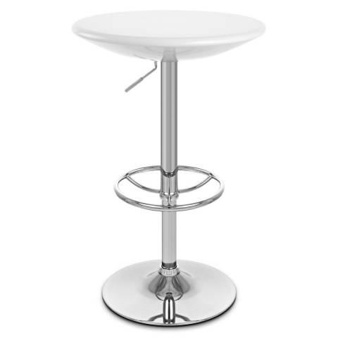 Dial Poseur Table - White