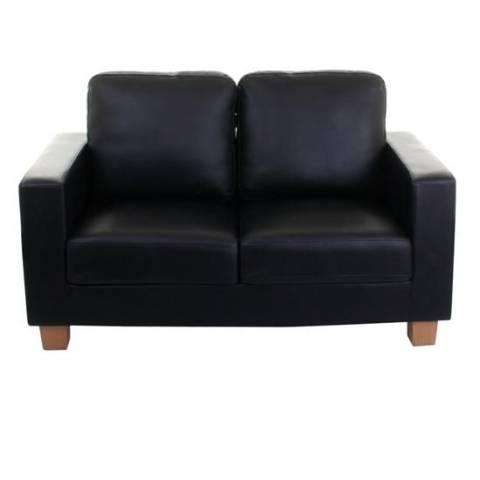 Two Seater Sofa - Black