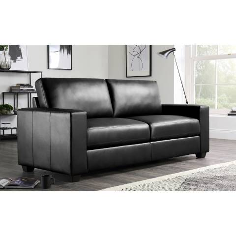 Three Seater Sofa - Black