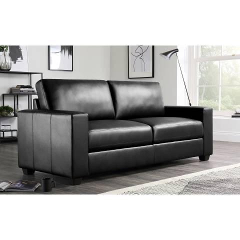 Three Seater Sofa - Black