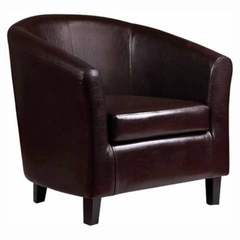 Tub Chair Brown