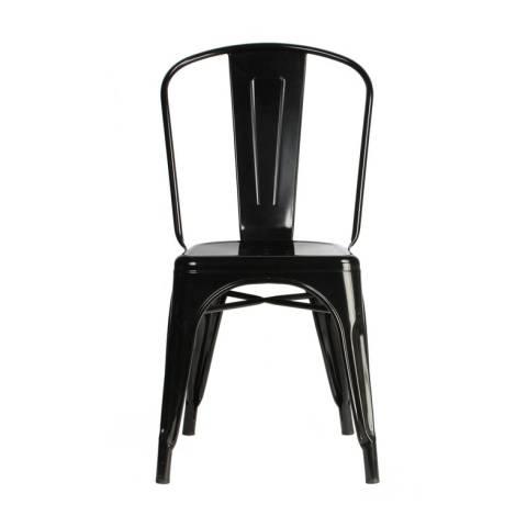 Tolix Black Cafe Chair
